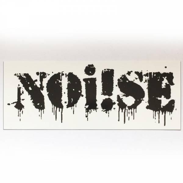 Noi!se (Noise) - Logo, Aufkleber