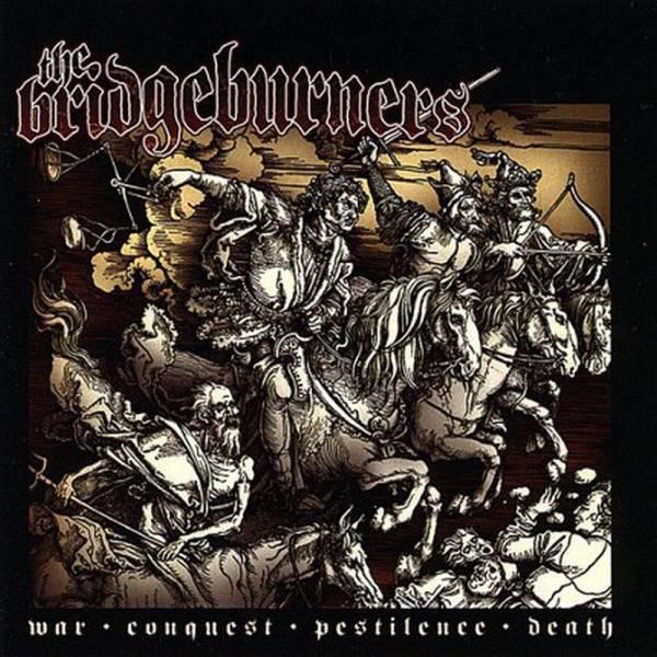 Bridgeburners, The – War Conquest Pestilence Death, LP lim. 100 yellow clear beschädigt