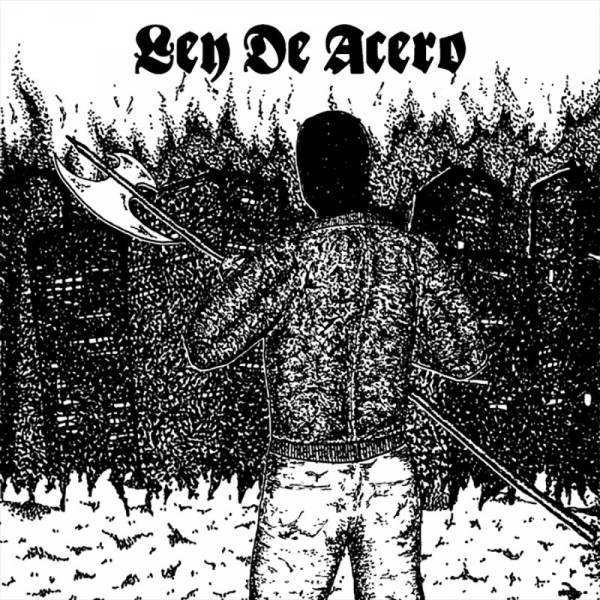 "Ley De Acero - s/t, 7"" schwarz, lim. 150, Anthems Cover"