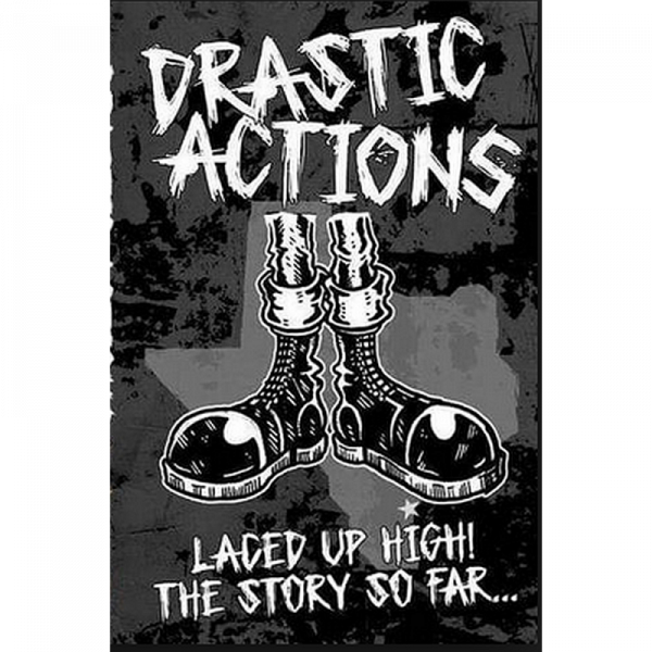 Drastic Action - Laced Up High! The Story So Far... , Kassette lim. verschiedene Farben