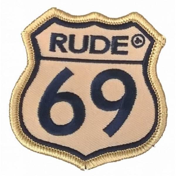 Rude 69, Aufnäher