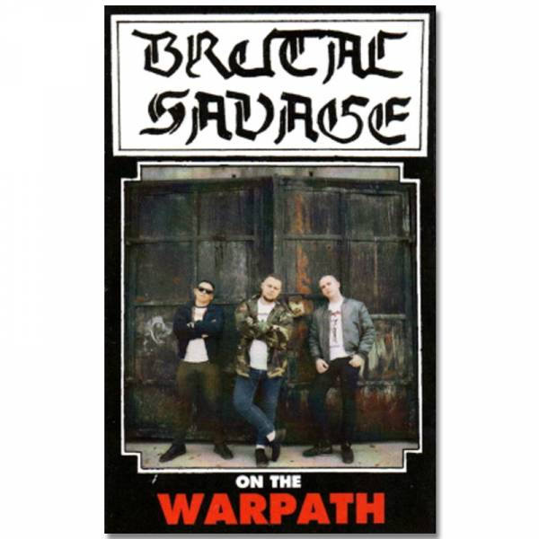 Brutal Savage ‎– On The Warpath, Kassette