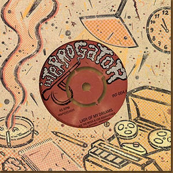 Joe the Boss / Los Aggrotones - Lady of my dreams, 7'' lim. 400 schwarz