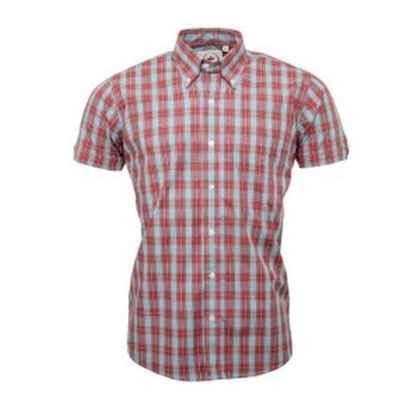 RELCO Clothing - Button Down Kurzärmel-Shirt CK35, verschiedene Größen