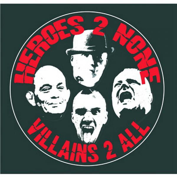 Heroes 2 None - Villains 2 All, 10'' lim. 500 schwarz