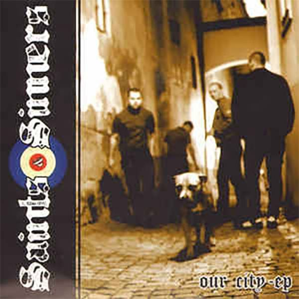 """Saints & Sinners - Our City, 7"""", Zweitpressung, lim. 77 schwarz"""