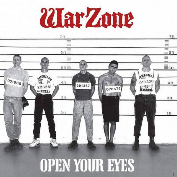 Warzone - Open your eyes, CD