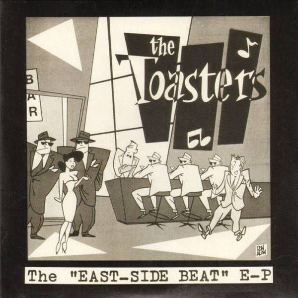 Toasters, The - East Side Beat, 7'' schwarz