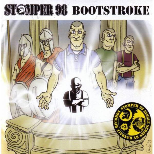 Stomper 98 / Bootstroke - Dto., 7'' schwarz
