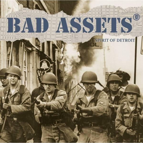 Bad Assets - Spirit of Detroit, LP lim. 175 schwarz BESCHÄDIGT