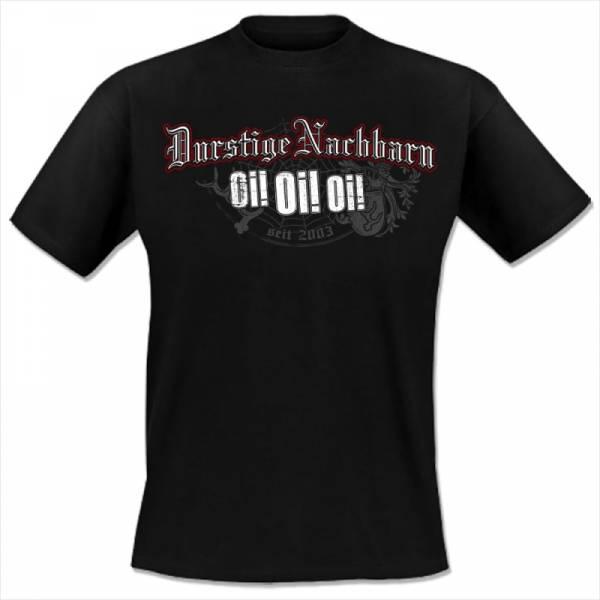 Durstige Nachbarn - Oi! Oi! Oi!, T-Shirt schwarz