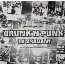 V/A Drunk'N'Punk In Brabant, lim. 500 Picture LP