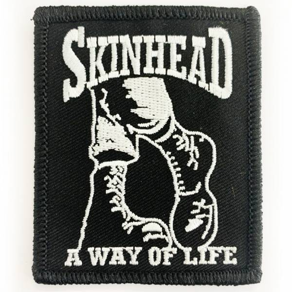 Skinhead - A way of life Boots, Aufnäher
