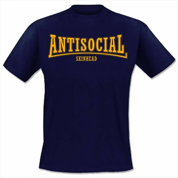Antisocial - Skinhead, T-Shirt, verschiedene Farben