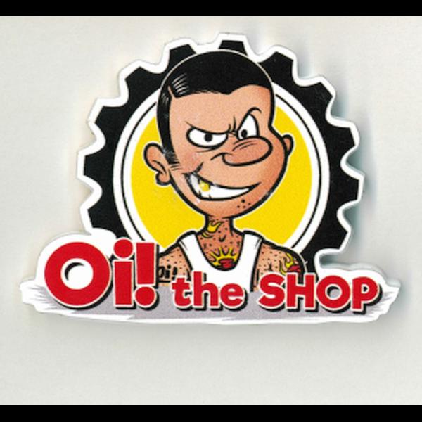 Oi! the Shop Logo, Magnet