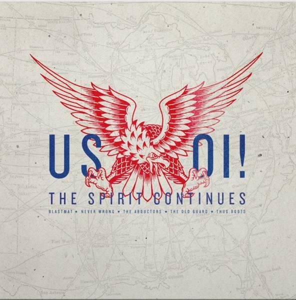 V/A US Oi! The Spirit continues, LP lim. verschiedene Farben