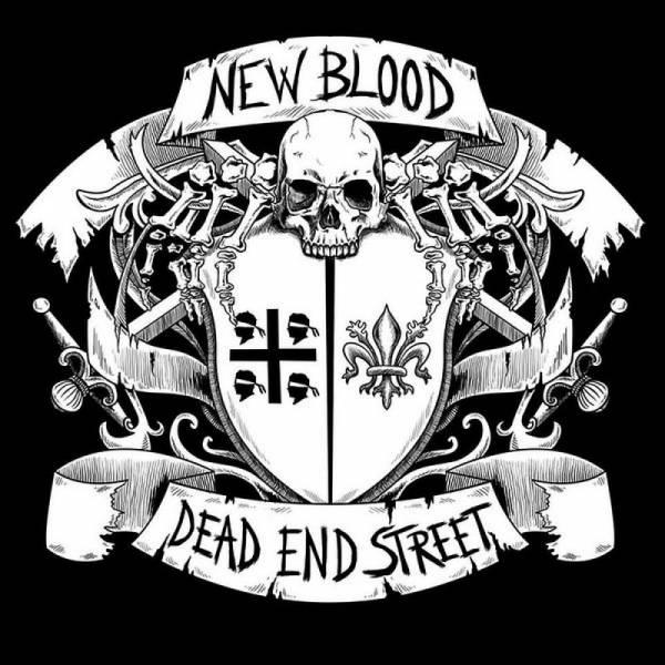 New Blood / Dead End Street - Dto., 7'' schwarz