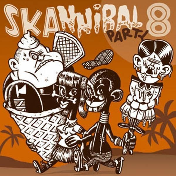 V/A Skannibal Party - Vol. 8, CD