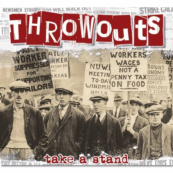 Throwouts - Take a stand, CD Digipack