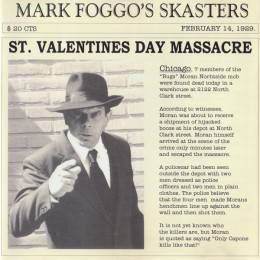 Mark Foggo's Skasters – St. Valentines Day Massacre, LP + 7'' lim. verschiedene Farben