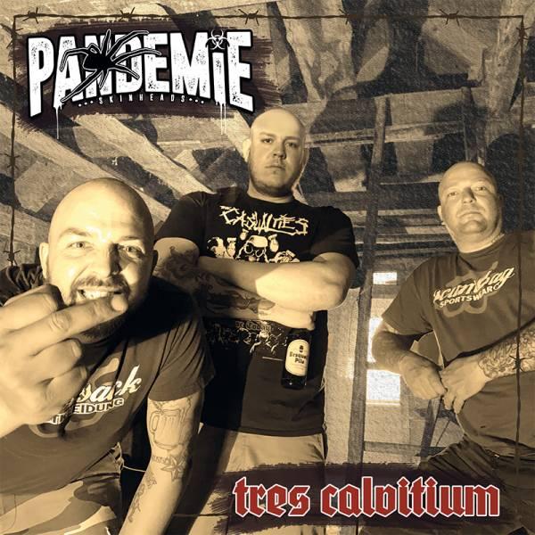 PANDEMiE - Tres Calvitium, LP lim. 300, verschiedene Farben