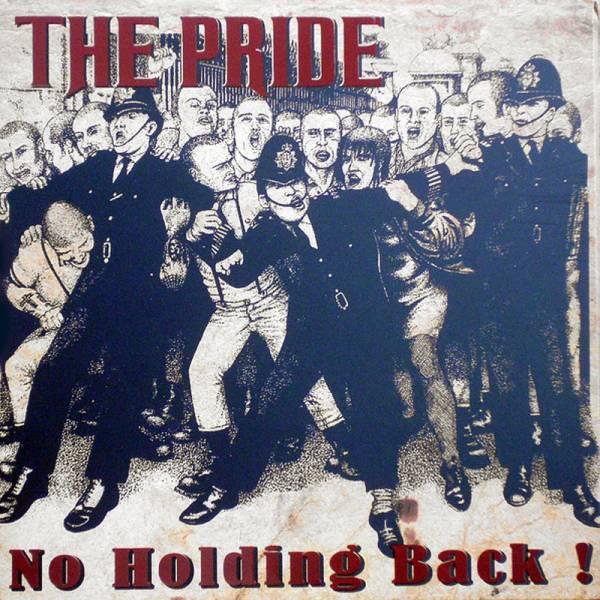 Pride, The - No holding back, LP schwarz, lim. 250 handnummeriert