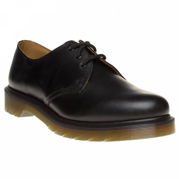 Dr. Martens - 1461 PW, 3-Loch Schuh schwarz smooth