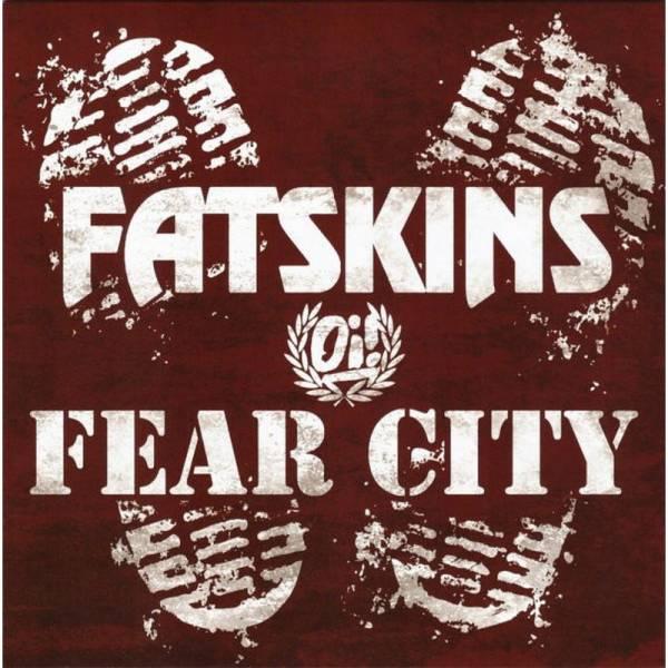 Fatskins & Fear City - Split, 7'' lim. verschiedene Farben