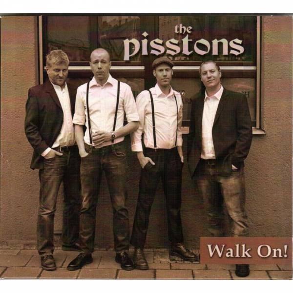 Pisstons, The - Walk On, CD Digipack