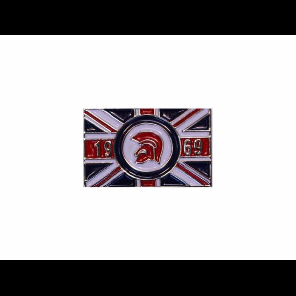 Trojan - Union Jack, Pin