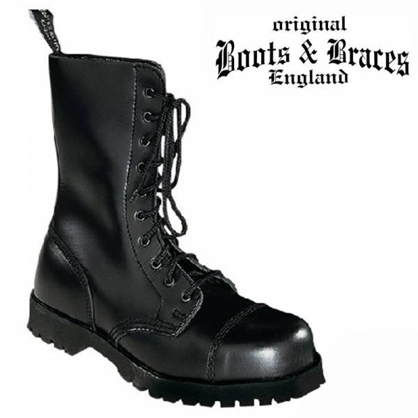 Boots & Braces - 10 Loch, Boots / Stiefel verschiedene Farben