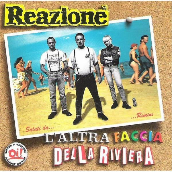 Reazione - L'Altra Faccia Della Riviera, 10'' lim. 600 schwarz