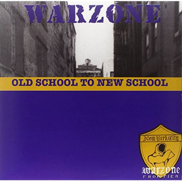 Warzone - Old school to new school, CD