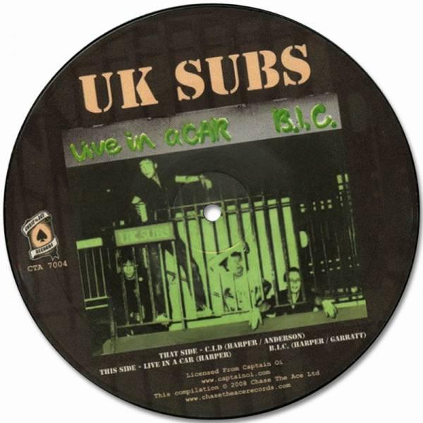 """UK Subs - C.I.D., 7"""" lim. 1000 U.K. Subs"""