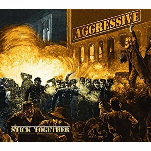 Aggressive - Stick together, CD Digipack