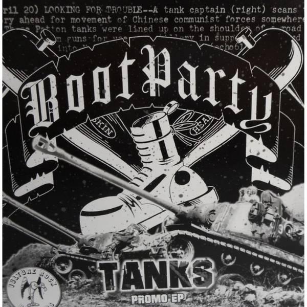 Boot Party - Tanks, 7'' lim. 100 grün