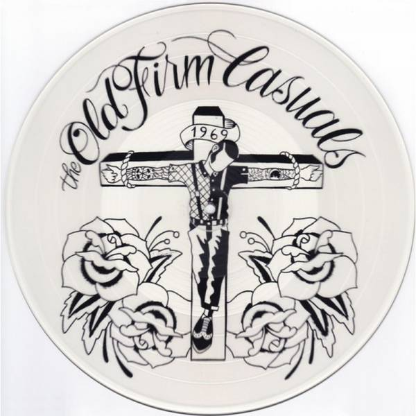 Old Firm Casuals, The - s/t ,12'' lim. 1000 clear