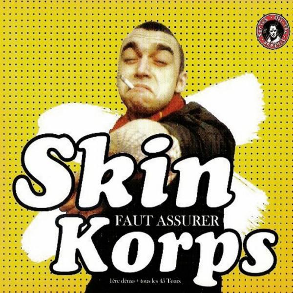 Skinkorps - Faut assurer, DoLP Gatefold clear
