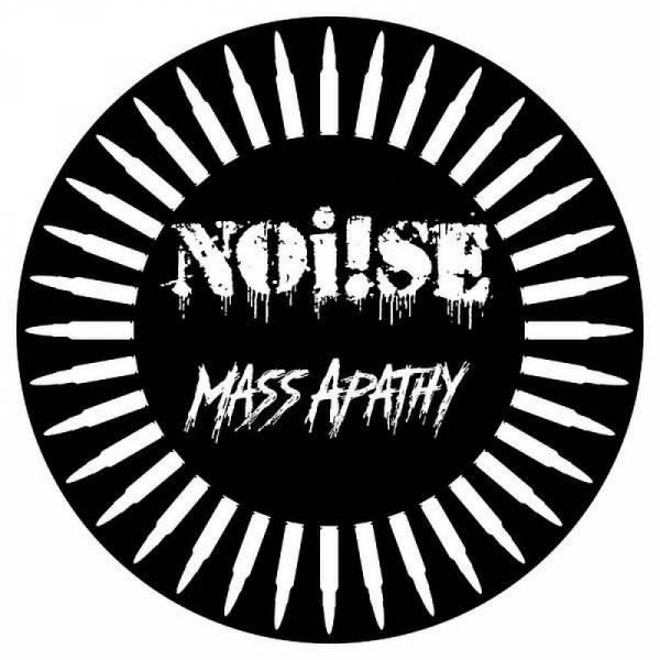 Noi!se (Noise) - Mass Apathy, 12'' Diecut lim. 1500 schwarz