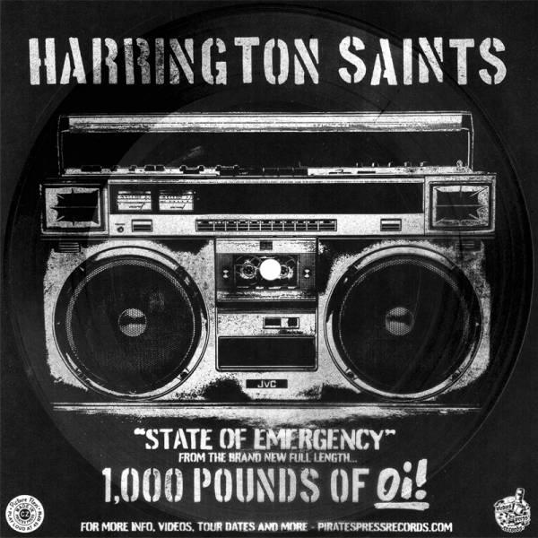 Harrington Saints - State of emergency, 7'' Flexi