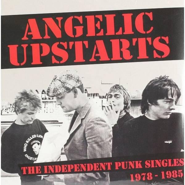 Angelic Upstarts - The Independent Punk Singles Collection, DoLP Schwarz