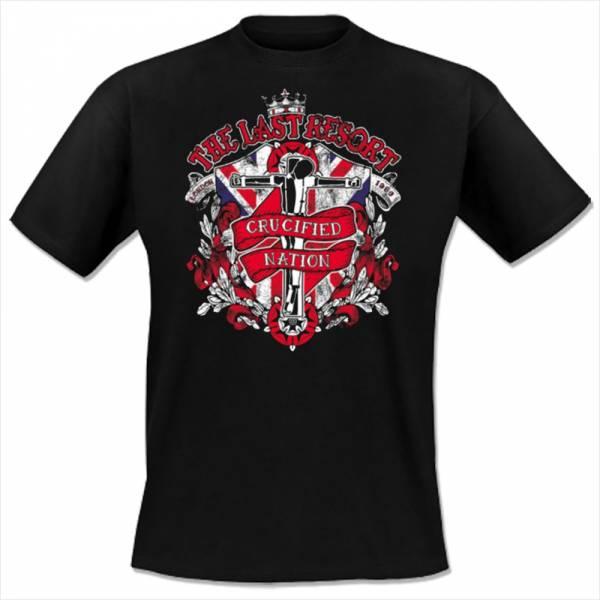 Last Resort, The - Crucified Nation, T-Shirt schwarz