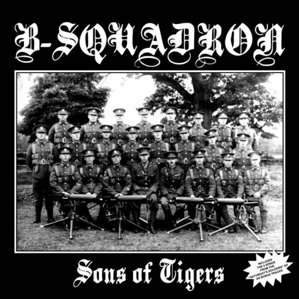B-Squadron - Sons of Tigers + Bonus, CD