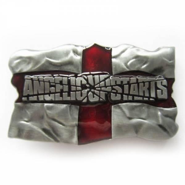 Angelic Upstarts - England, Gürtelschnalle