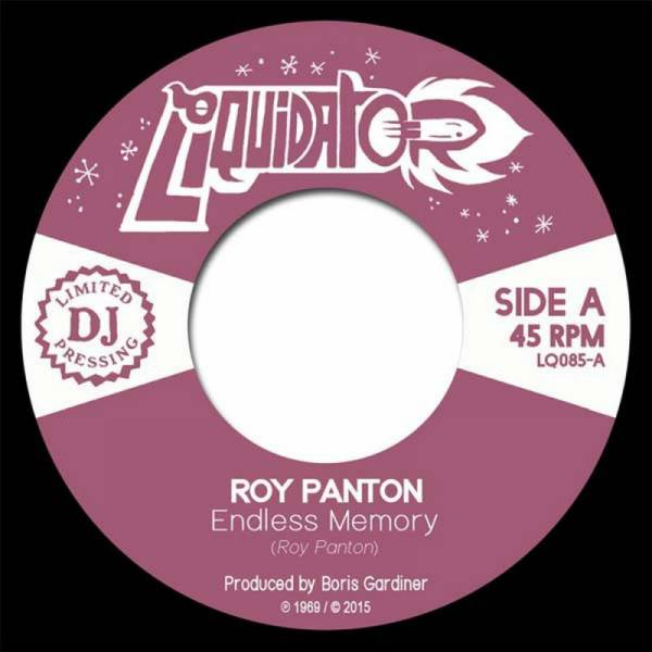 Roy Panton - Endless Memory / Tell Me, 7'' schwarz