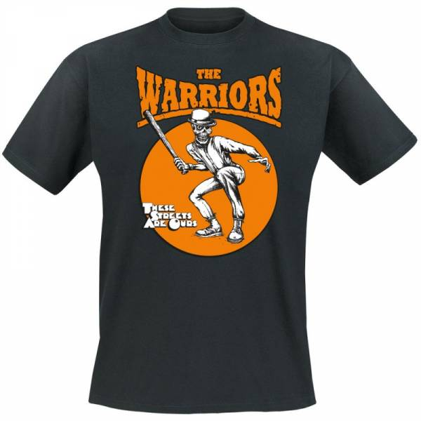 Warriors, The - These streets are ours, T-Shirt Schwarz