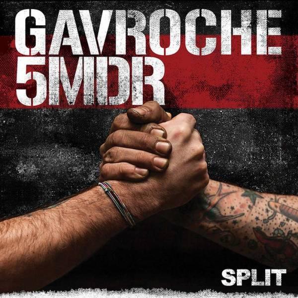 Gavroche/5Mdr - s/t, LP Gatefold, lim. 500 transparent rot