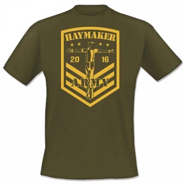 Haymaker - Army, T-Shirt oliv