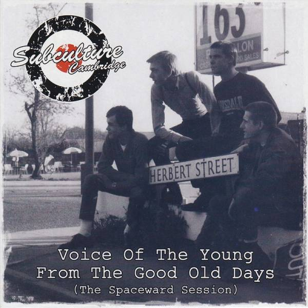 Subculture - Voice of the young from the good old days (The Spaceward Session), 7'' lim. 300 schwarz