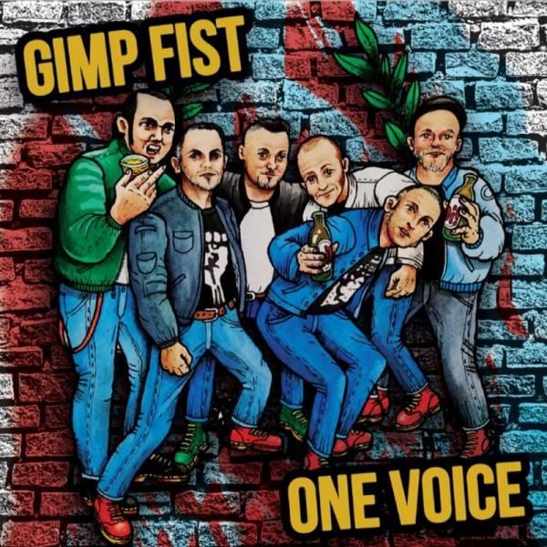 Gimp Fist / One Voice - Split, 7'' lim. 500 verschiedene Farben
